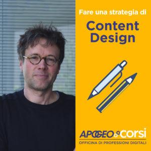 Fare una strategia di Content Design
