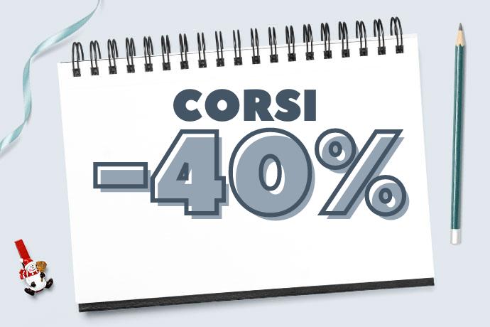 Black Friday 2020: -40% su tutti i corsi