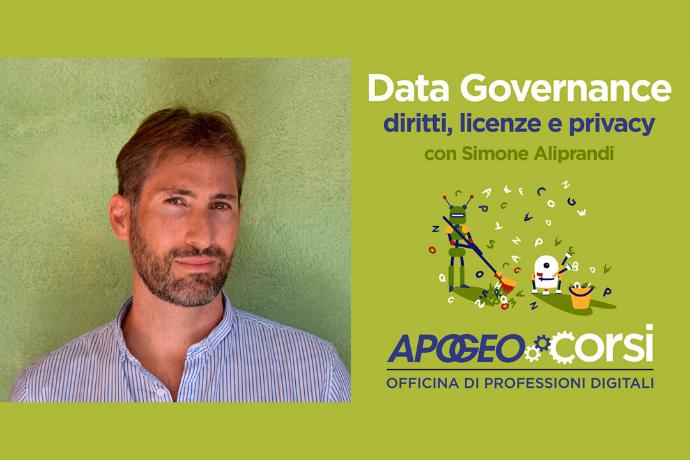 Data Governance - Corso in aula a Milano con Simone Aliprandi