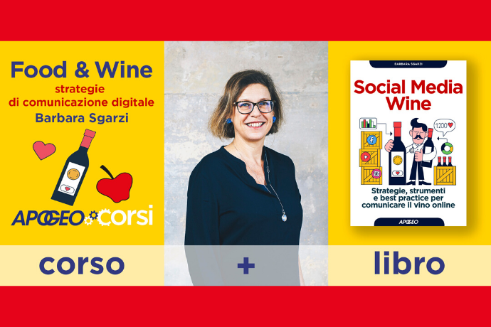 Food & Wine - Strategie di comunicazione digitale - Corso in aula a Milano con Barbara Sgarzi