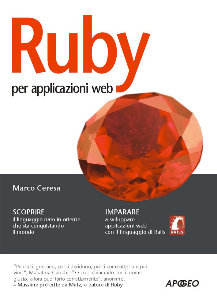 Ruby Per Applicazioni Web Libri Apogeo Editore