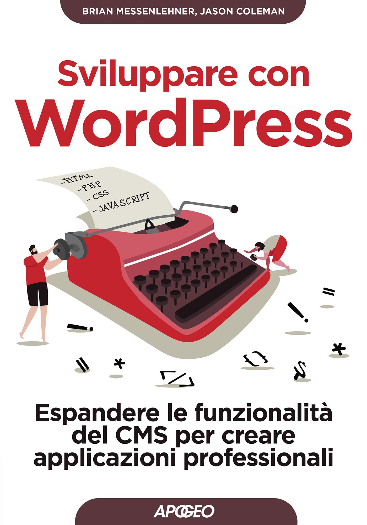 Sviluppare con WordPress – copertina