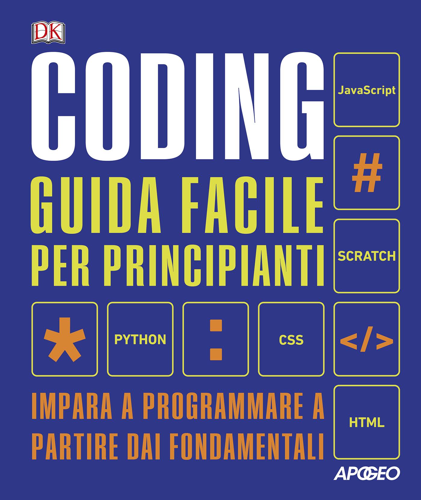 Coding: guida facile per principianti – copertina