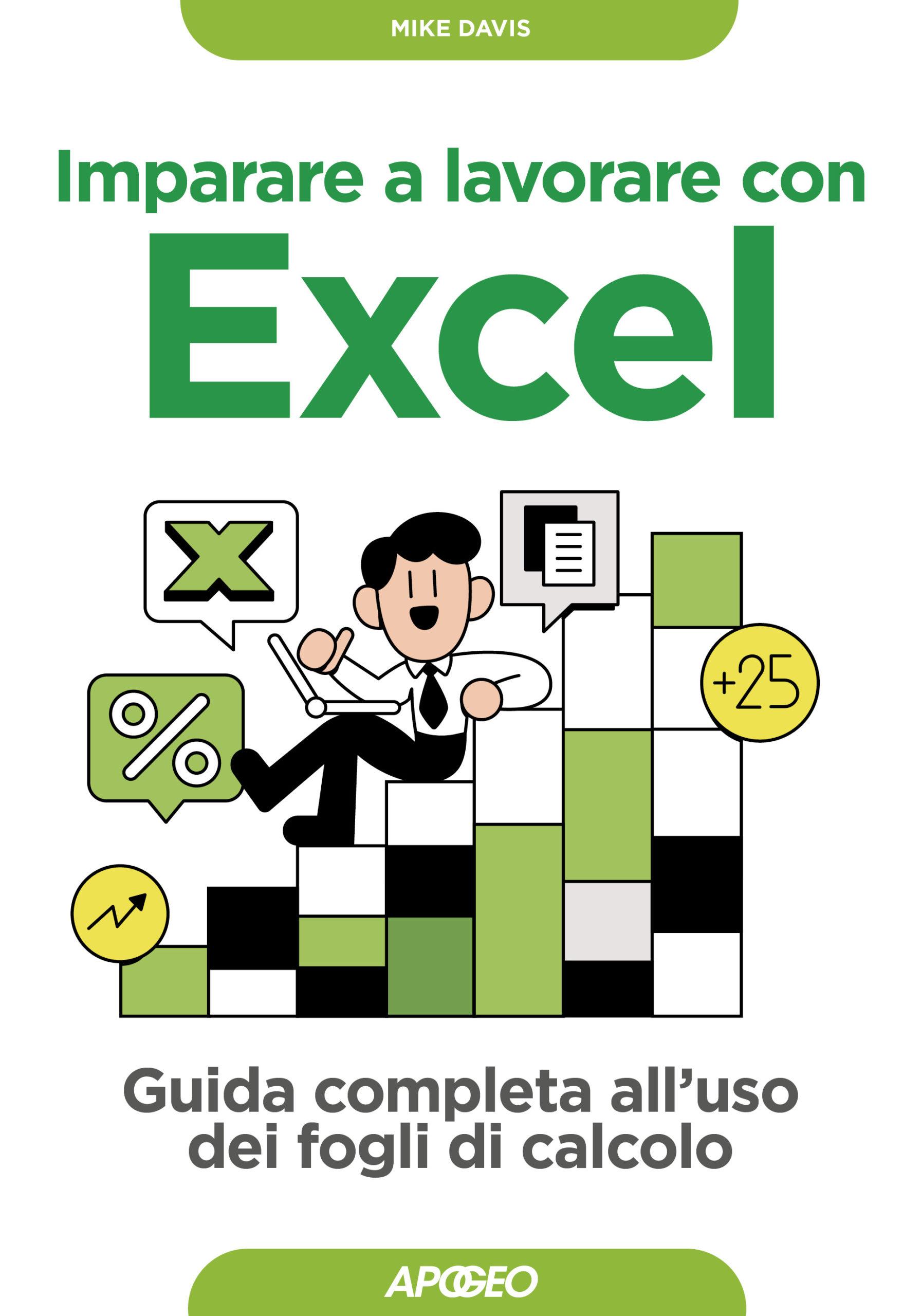 Imparare a lavorare con Excel – copertina