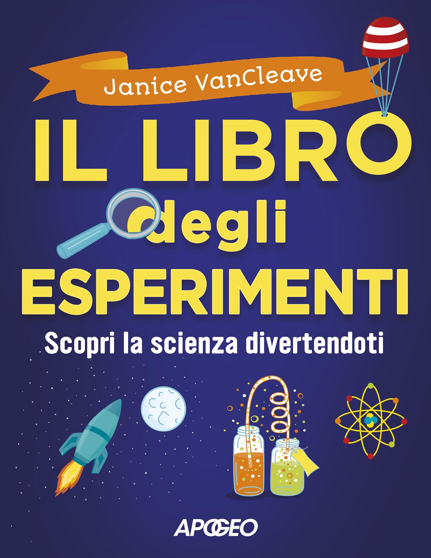 Il libro degli esperimenti – copertina