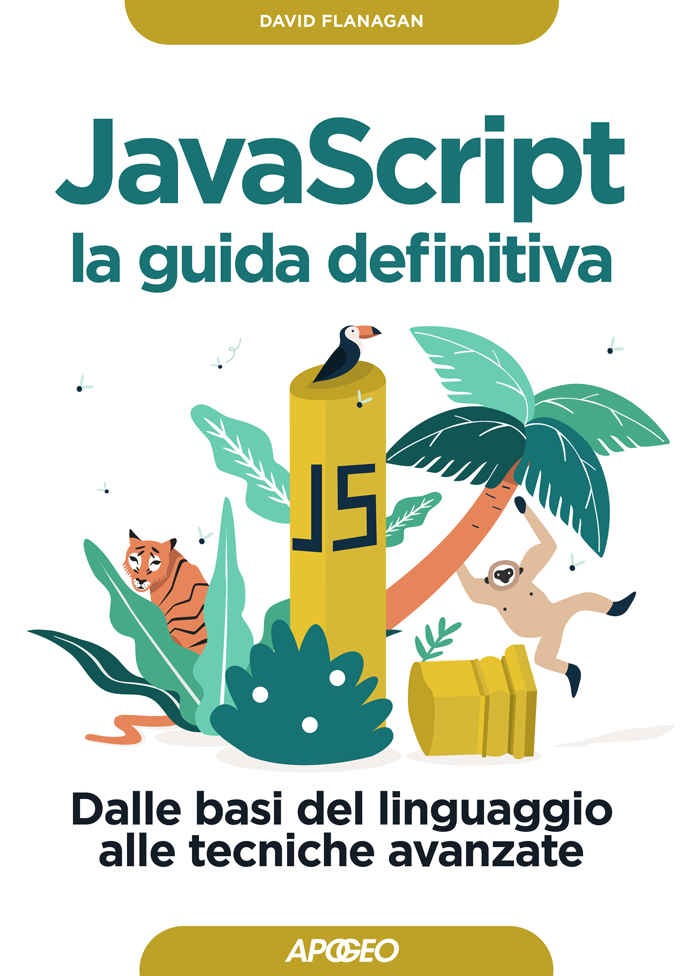 JavaScript la guida definitiva – copertina