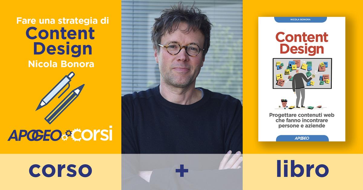 Content Design - Corso in aula con Nicola Bonora