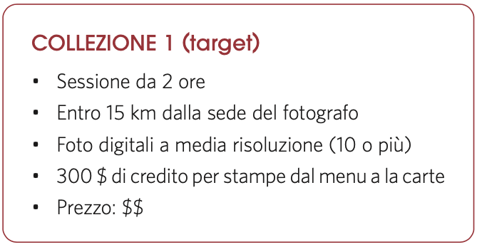 Collezione 1 (target)