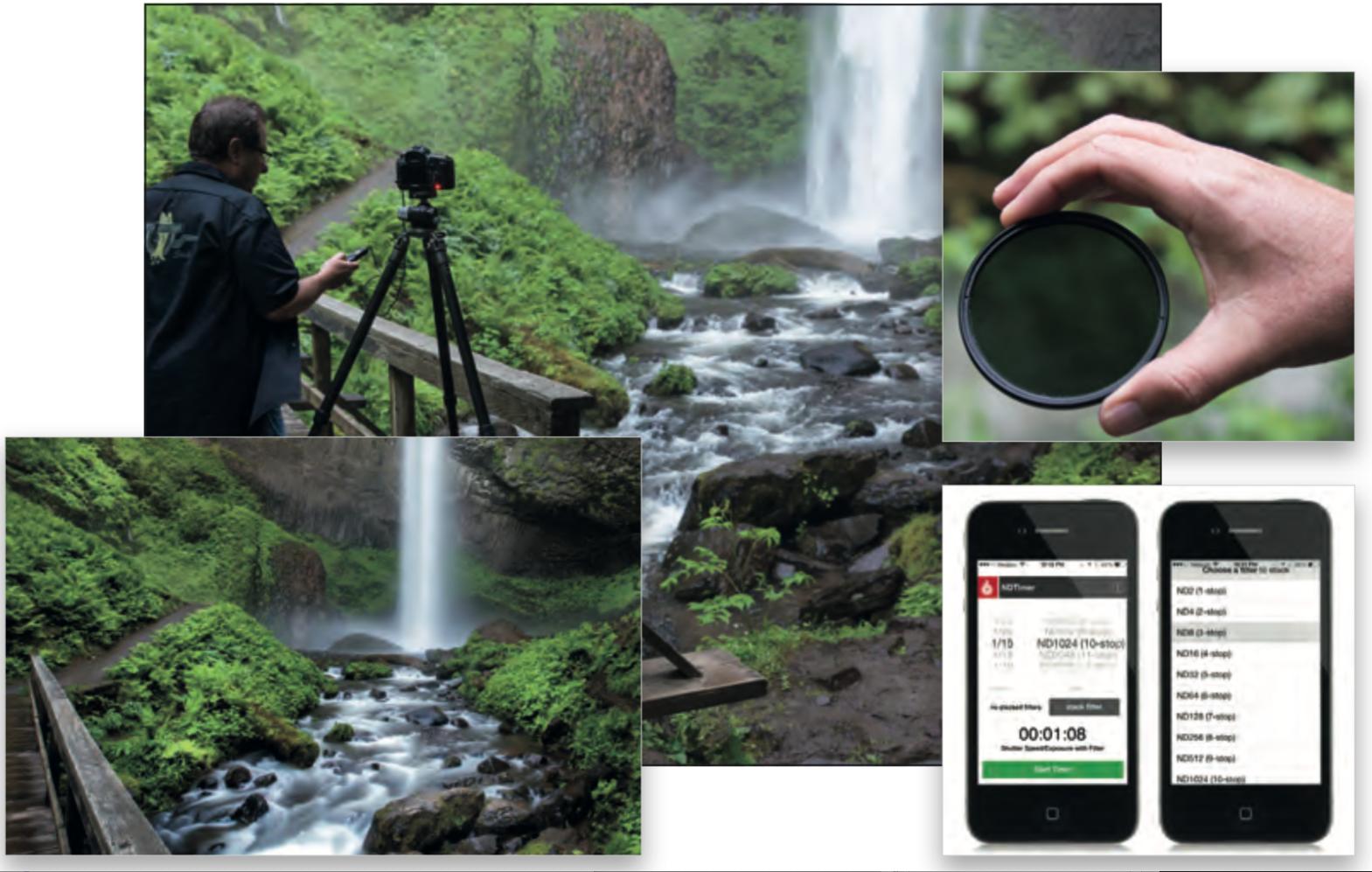 Come fotografare le cascate