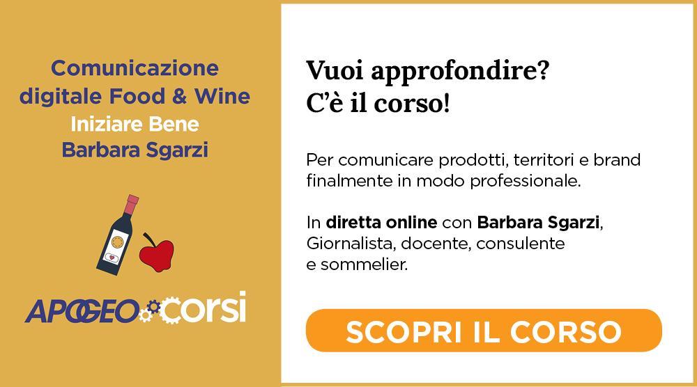 Comunicazione Food Wine Barbara Sgarzi