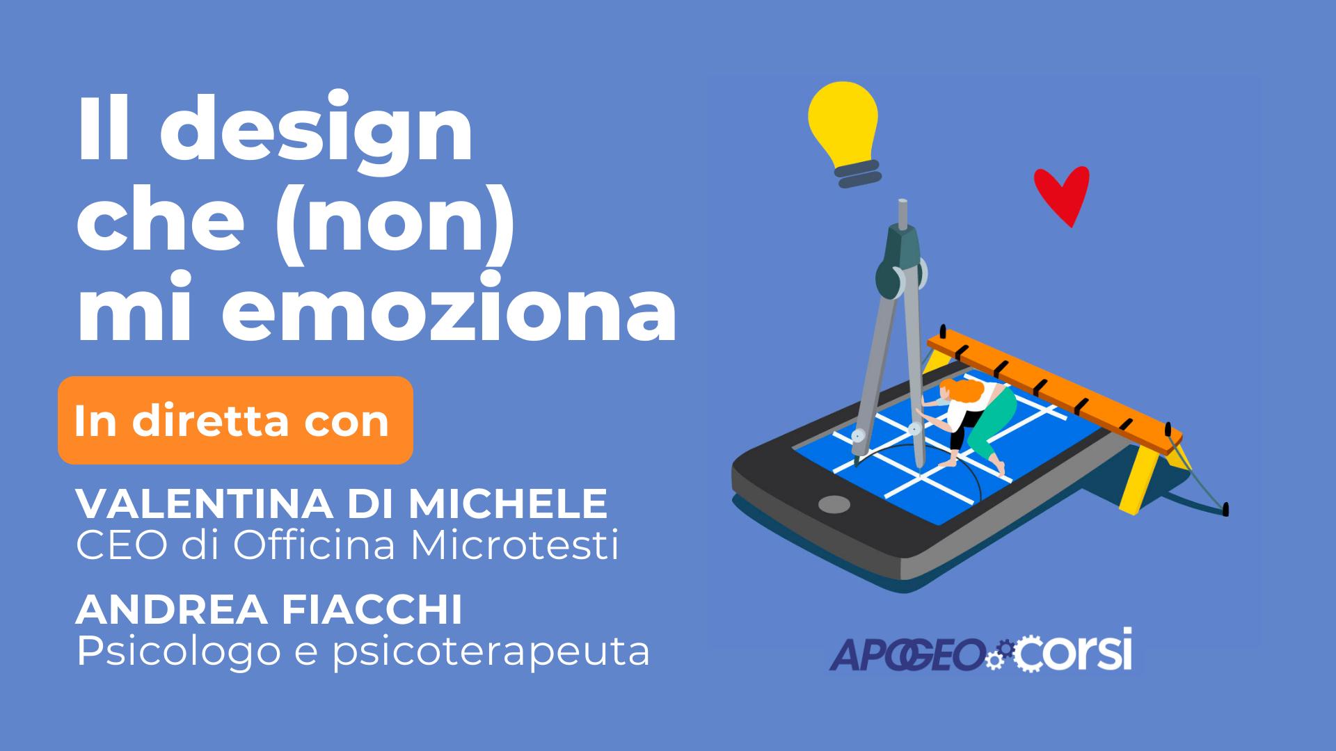 Di Michele, Fiacchi - il design che (non) mi emoziona