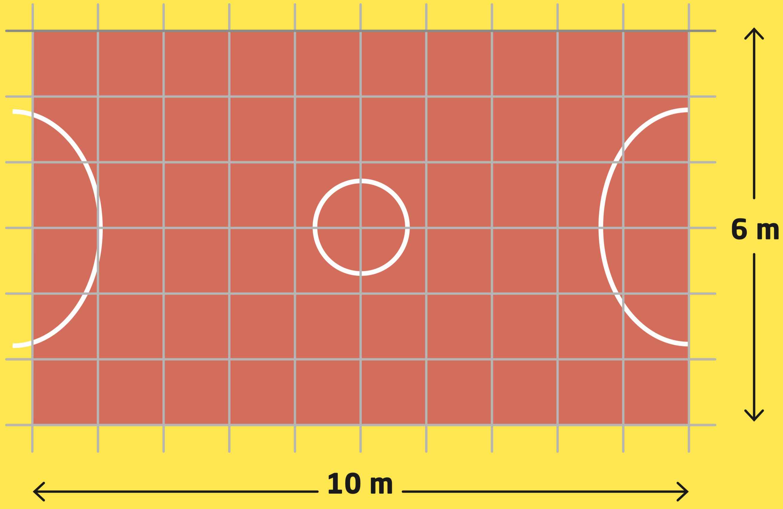Impara le moltiplicazioni: quanto è grande un campo sportivo, o meglio qual è la sua area