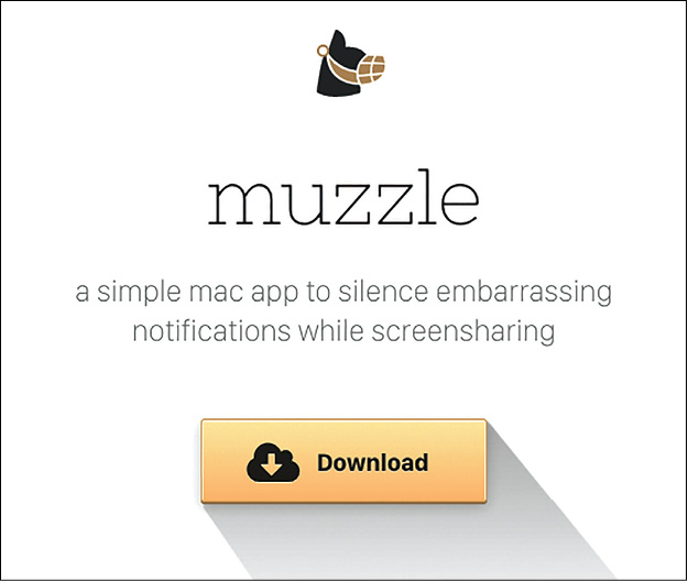 L'homepage di Muzzle