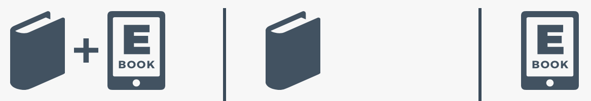 Libro più ebook, solo libro, solo ebook