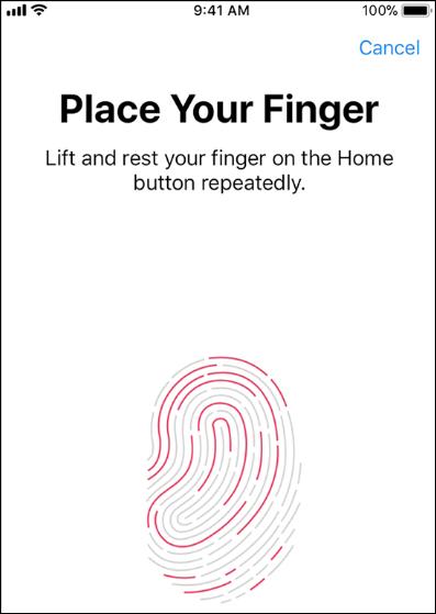 Lo scanner delle impronte digitali dell'iPhone