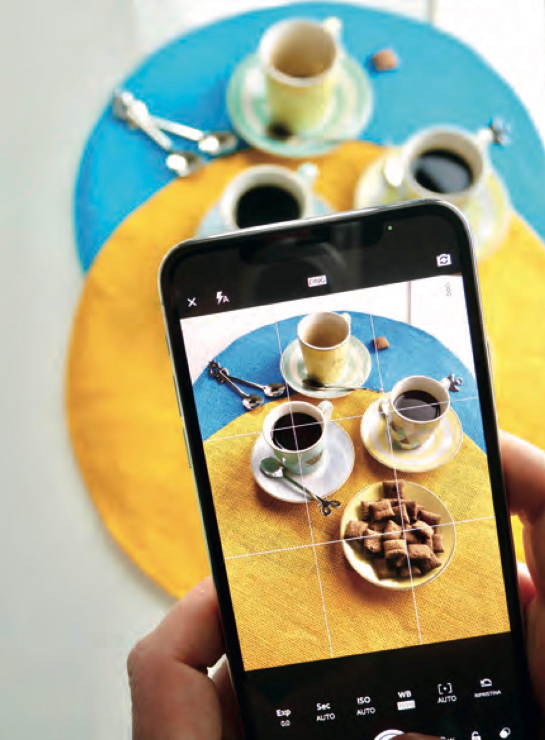 Lo smartphone è un ottimo alleato in ogni situazione, soprattutto per la Food Photography