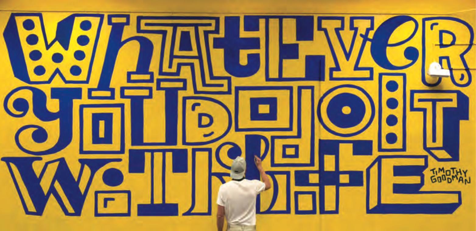 Murale sulla NDS High School