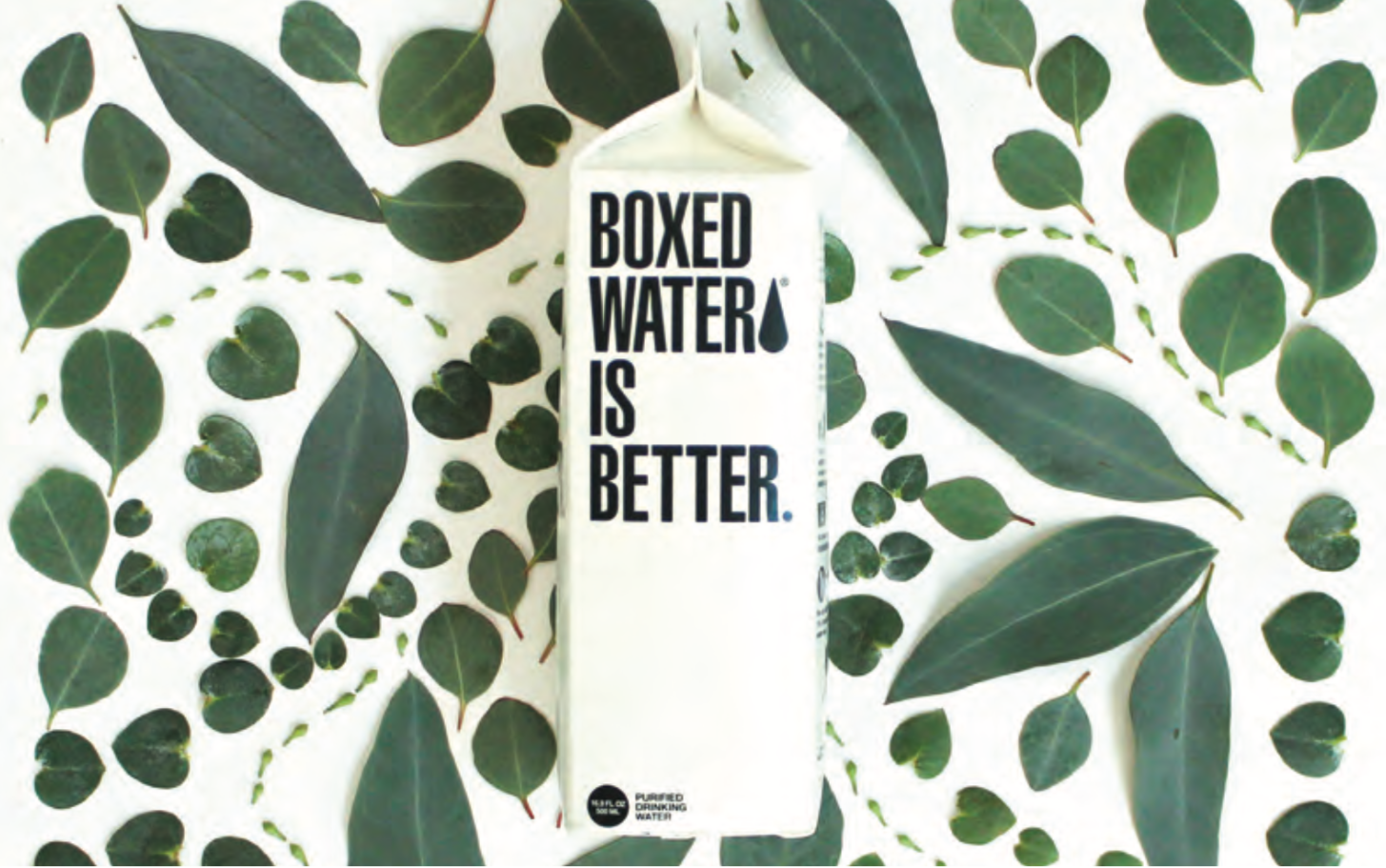 Pensare in modo diverso - fotografo Boxed Water Is Better