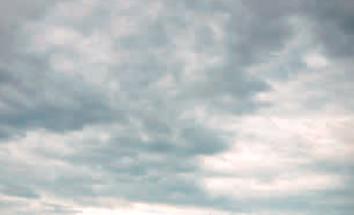 Più nuvole vuol dire ombre meno forti