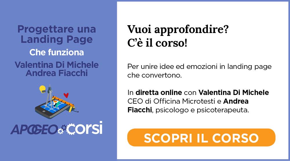 Progettare Una Landing Page - Che Funziona, con Valentina Di Michele e Andrea Fiacchi