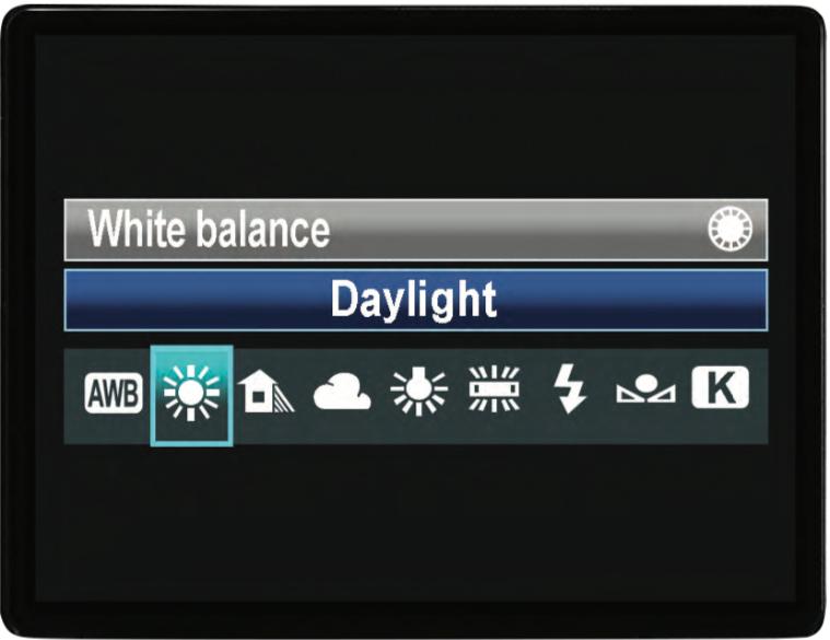 Scegli il giusto bilanciamento del bianco