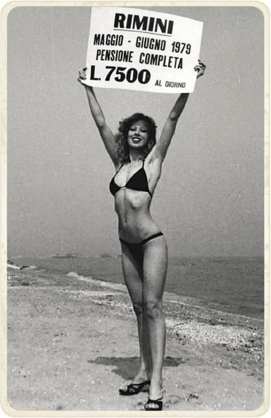 Un'immagine promozionale degli anni settanta