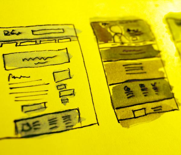 Voglio progettare i contenuti di un sito web