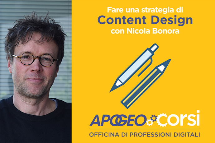 Fare una strategia di Content Design (home page)