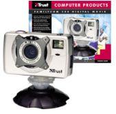 Trust FamilyC@m 300, macchina fotografica digitale e webcam insieme