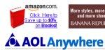 AOL investe 100 milioni di dollari in Amazon.com