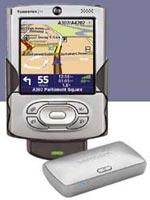 palmOne e TomTom: un sistema auto di navigazione wireless plug-and-drive