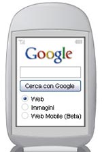Benvenuto Google Mobile Web Search
