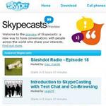 Skype 3.0: ed è subito Skypecast