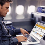 L'Internet in aereo resta a terra, decollerà in auto?
