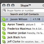 Skype 2.5 anche per Mac OS X