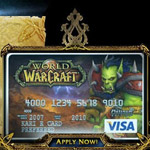 Visa World of Warcraft: la carta di credito per gamer