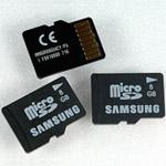 Samsung rilancia con microSD da 8 GB