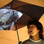 Il display ripiegabile e l'ombrello Internet