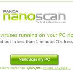 NanoScan, un virus scanner online per Vista