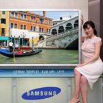 Samsung rilancia con un tv LCD da 70 pollici