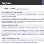 Il compleanno di BlogBabel