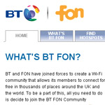 British Telecom sposa la causa FON