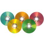 I supporti LightScribe si tingono di tutti i colori
