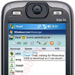 Chattare al cellulare con Windows Live Messenger