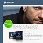 Napster Mobile anche in Italia