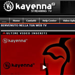 Kayenna.it, la web tv italiana dei grandi eventi