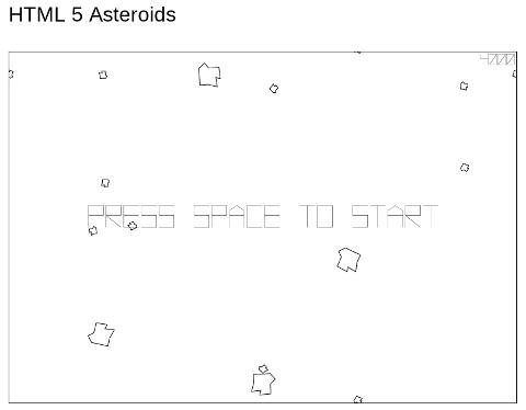 Una partita di Asteroids è appena terminata!