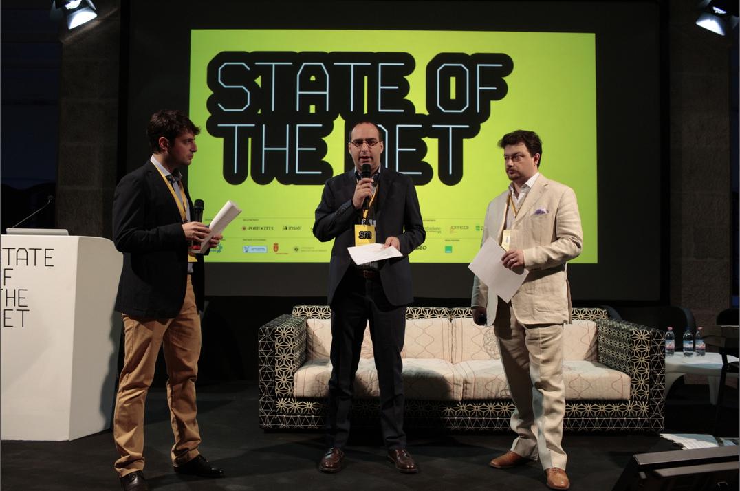 Beniamino Pagliaro, Sergio Maistrello, Paolo Valdemarin: le menti (e braccia) dietro State of the Net.