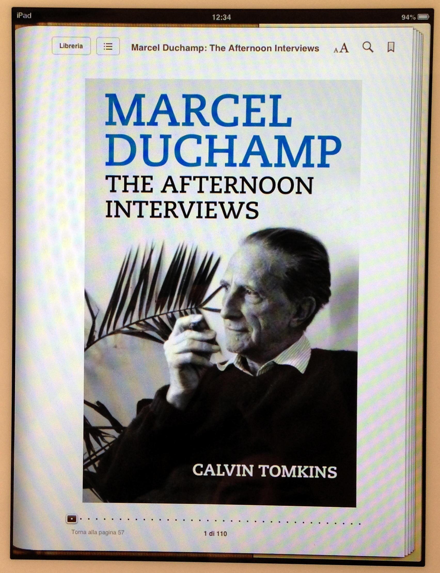 Intervista a Marcel Duchamp