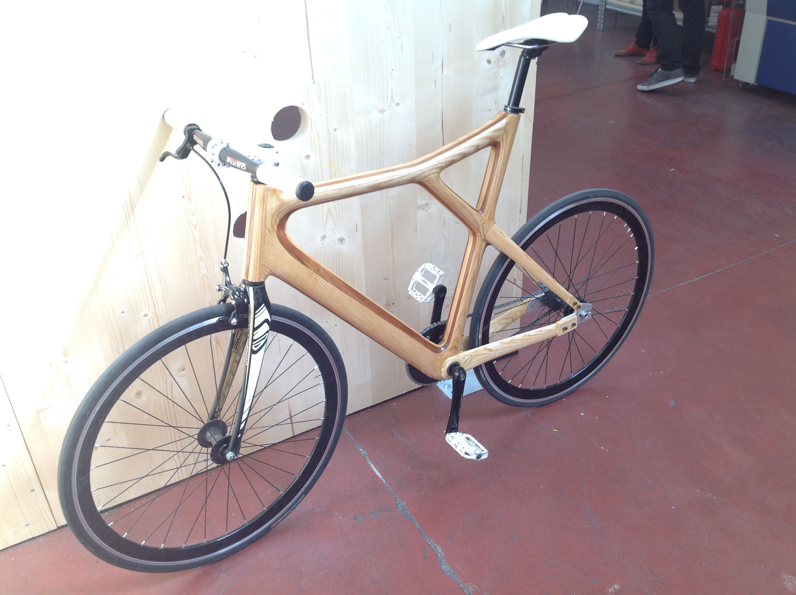 Bicicletta al laser